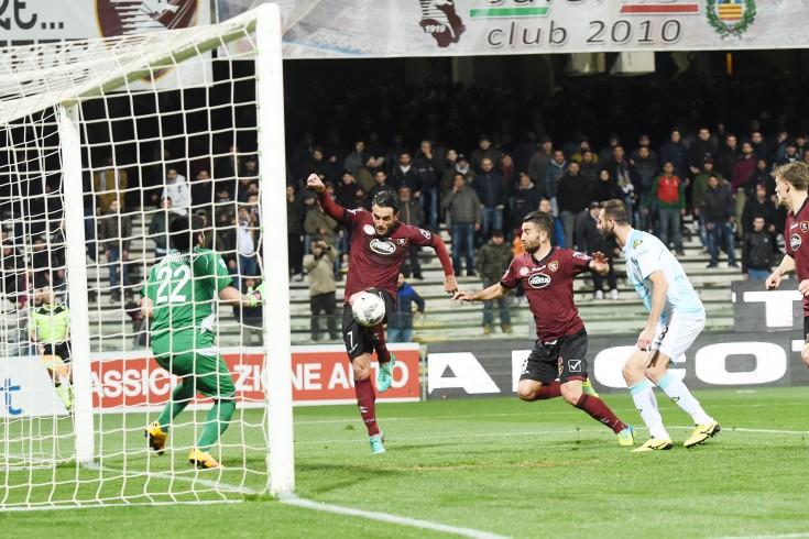 Salernitana-Virtus Entella, è 1 a 1 alla fine del primo tempo - aSalerno.it