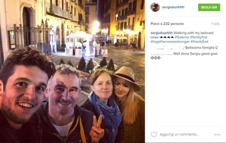 """Carica Bus e scatto social in famiglia: """"Continuiamo a combattere"""" - aSalerno.it"""