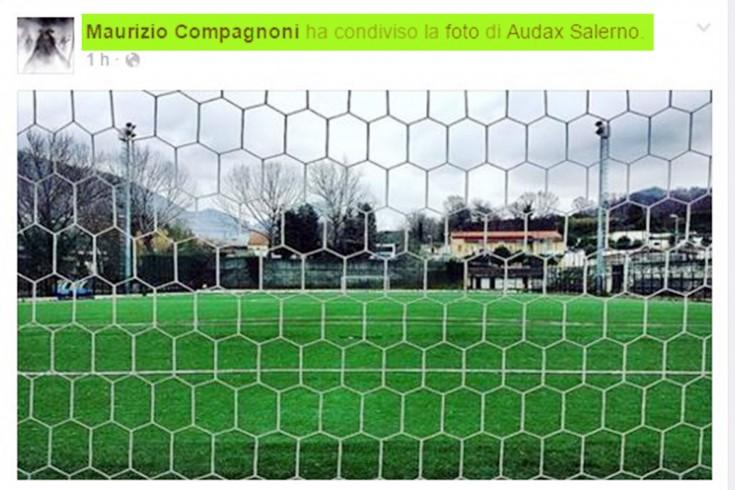 FOTO – Maurizio Compagnoni di Sky sostiene l'Audax Salerno - aSalerno.it
