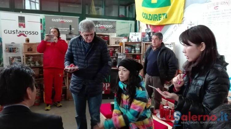 Buyers giapponesi rapiti dal Pomodoro San Marzano - aSalerno.it