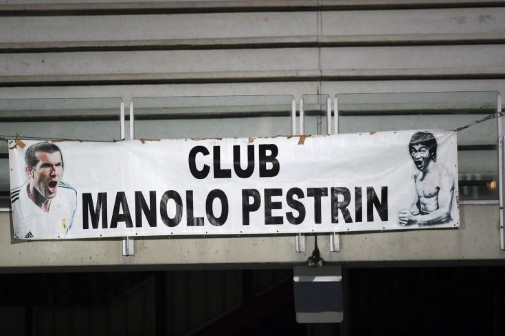 FOTO – Tifosi del Cesena espongono striscione per Manolo Pestrin - aSalerno.it