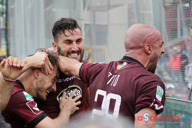 Salernitana-Latina, l'anno scorso una vittoria al cardiopalma - aSalerno.it
