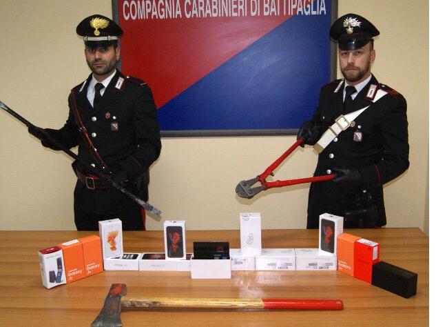 Rubano cellulari a Battipaglia, presi due fratelli - aSalerno.it