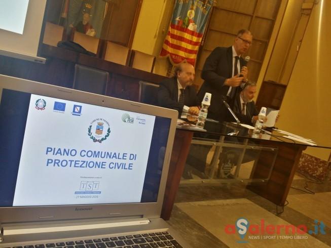 Presentato il nuovo piano della Protezione Civile, rischi e numeri per Salerno - aSalerno.it