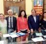Chiara Natella, Ermanno Guerra, Imma Battista, Francomassimo Lanocita e Anna Bellagamba