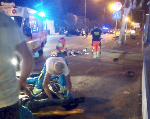 FOTO – Incidente shock in via Allende, uomo perde un piede dopo l'impatto - aSalerno.it
