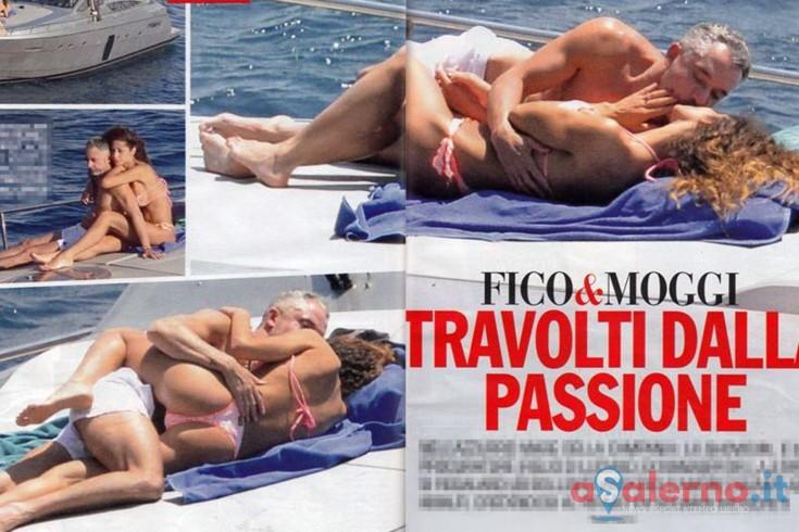 Alessandro Moggi e Raffaella Fico paparazzati a Cetara - aSalerno.it