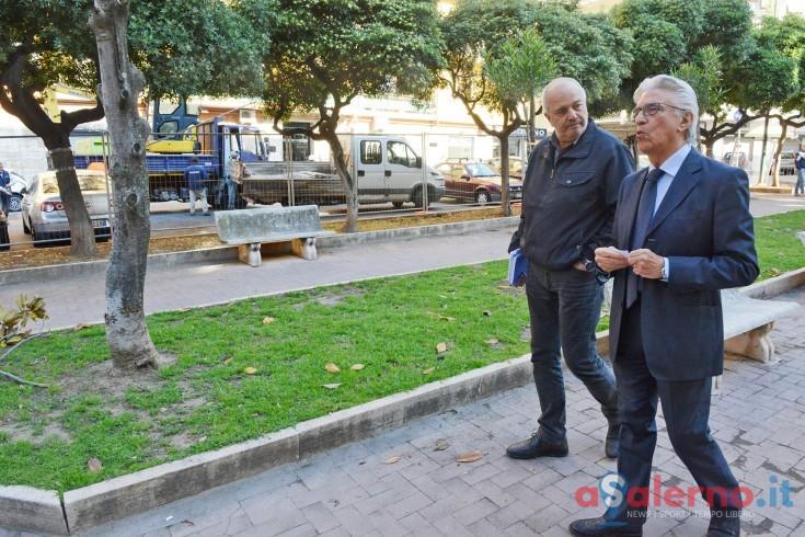 Si inaugurano a Torrione i nuovi giardini pubblici in via Martuscelli - aSalerno.it
