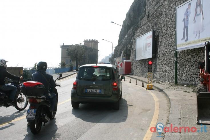 Statale 18 che collega Salerno e Vietri: nuova disposizione al traffico - aSalerno.it
