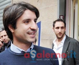 Salerno Via Trento. Comitato elettorale Dante Santoro, presentazione delle liste