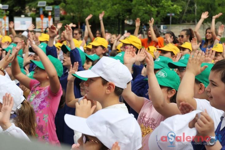 Porto di Parole, 300 bambini hanno colorato Baronissi - aSalerno.it