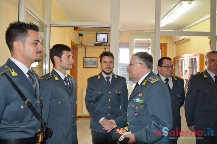 Il comandante dell'Italia Meridionale della Finanza nella provincia di Salerno - aSalerno.it