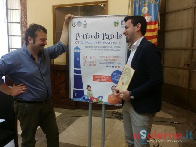 """Tutto pronto per la quarta edizione di """"Porto di Parole"""" - aSalerno.it"""