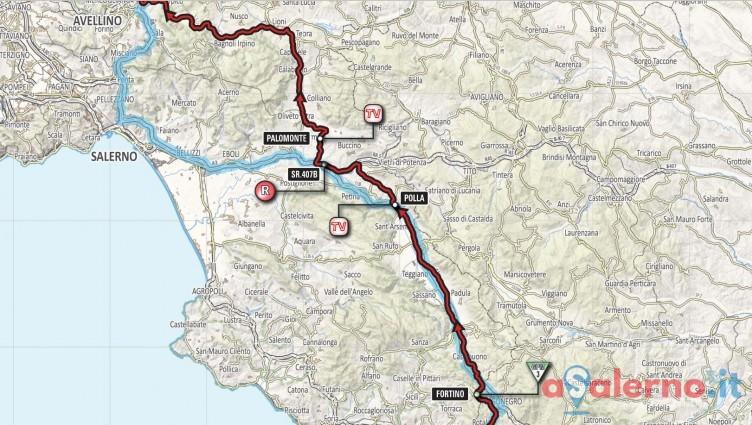 Giro d'Italia in provincia di Salerno ma solo di passaggio - aSalerno.it