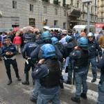 protesta dipendenti consorzio bacino sa  (2)