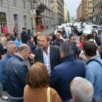 protesta dipendenti consorzio bacino sa  (3)