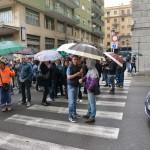 protesta dipendenti consorzio bacino sa  (6)
