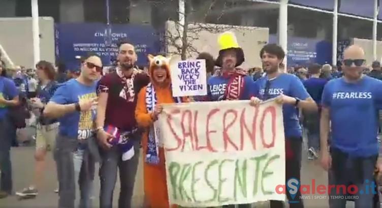 Tifosi granata in Inghilterra festeggiano la vittoria del Leicester di Ranieri - aSalerno.it