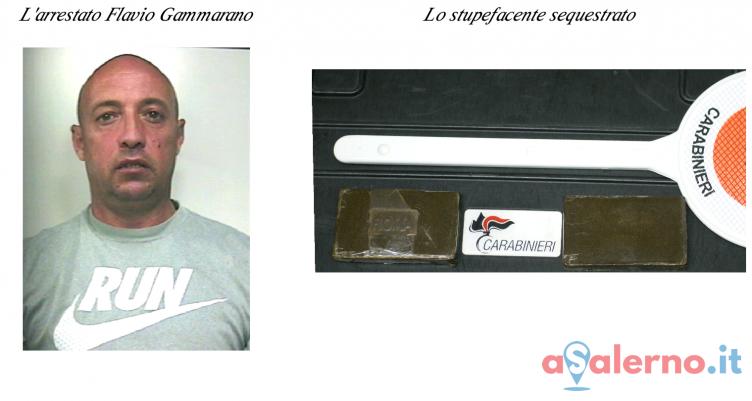 Battipaglia, in auto con due panetti di hashish: arrestato 42enne - aSalerno.it