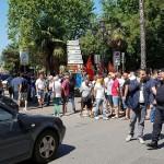 BLOCCO STRADALE OPERAI FONDERIA PISANO 05