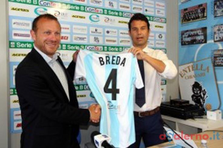 Roberto Breda è il nuovo allenatore di un'importante squadra di Serie B - aSalerno.it