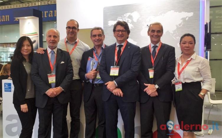 Grande interesse per il Porto di Salerno alla Transport Logistic China 2016 - aSalerno.it
