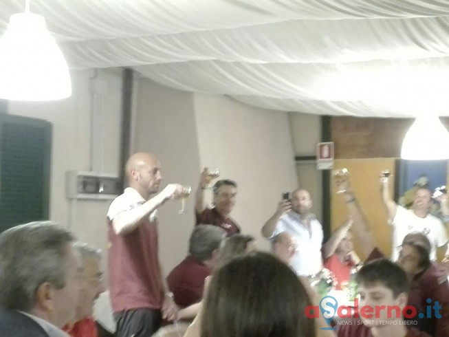 FOTO – Dopo gara granata, Pestrin leader brinda alla salvezza - aSalerno.it