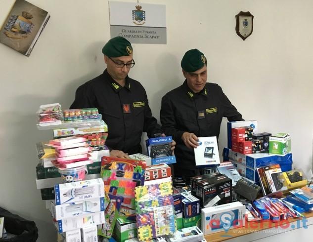 Blitz fiamme gialle, sequestrati articoli contraffatti tra Scafati e Sarno - aSalerno.it
