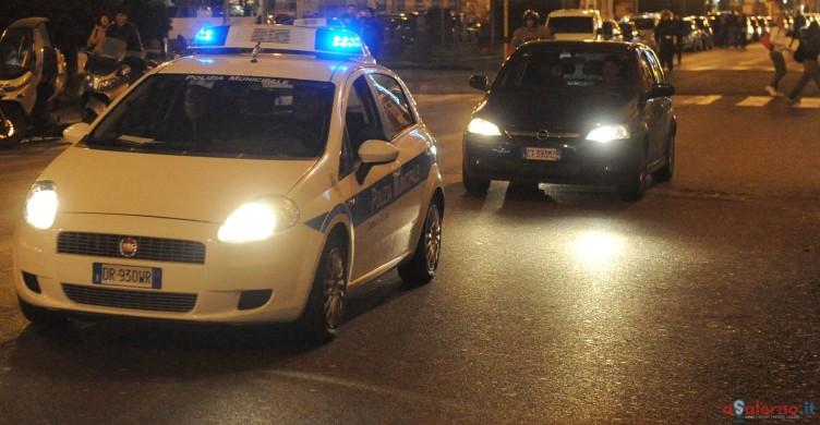 Pochi vigili in strada di notte, protestano sindacati e residenti - aSalerno.it