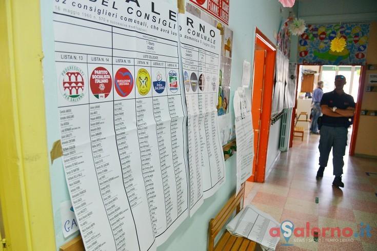 Elezioni Salerno, affluenza bassissima. Alle 12.00 è del 16,23% - aSalerno.it
