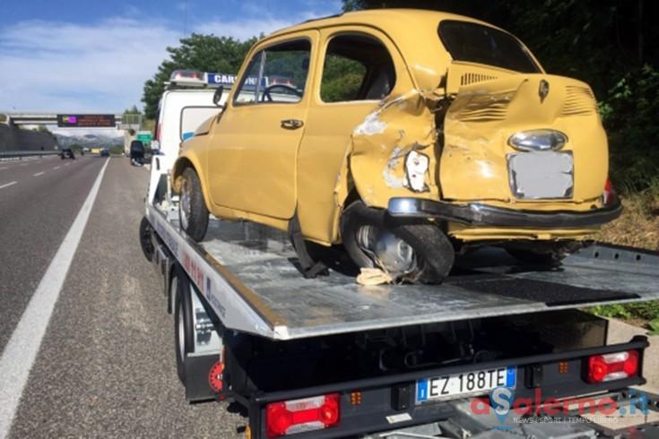 Contursi, tamponamento in autostrada: grave un 59enne - aSalerno.it