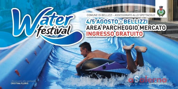 Un mega scivolo di 50 metri per il Water Festival di Bellizzi - aSalerno.it