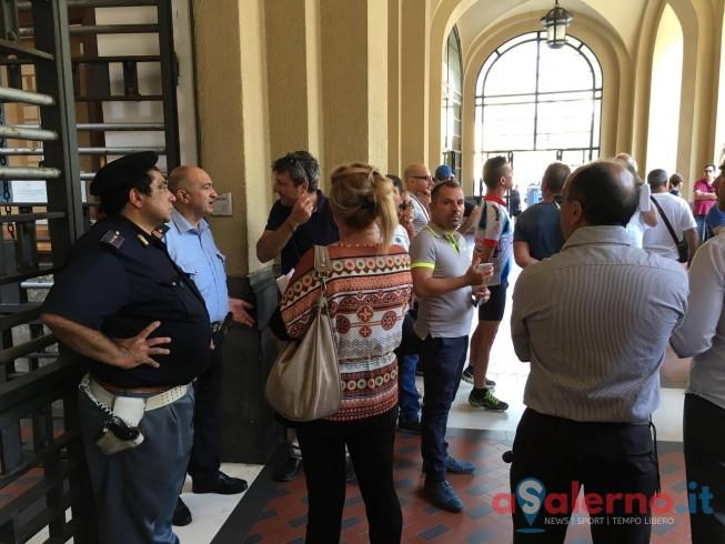 """Lavoratori Fonderie al Comune:""""Chiediamo rispetto, basta rimpalli di responsabilità"""" - aSalerno.it"""