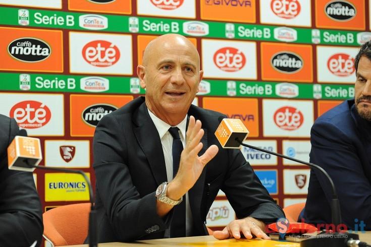 """Sannino ci crede: """"Siamo in corsa e vogliamo giocarci questa partita"""" - aSalerno.it"""