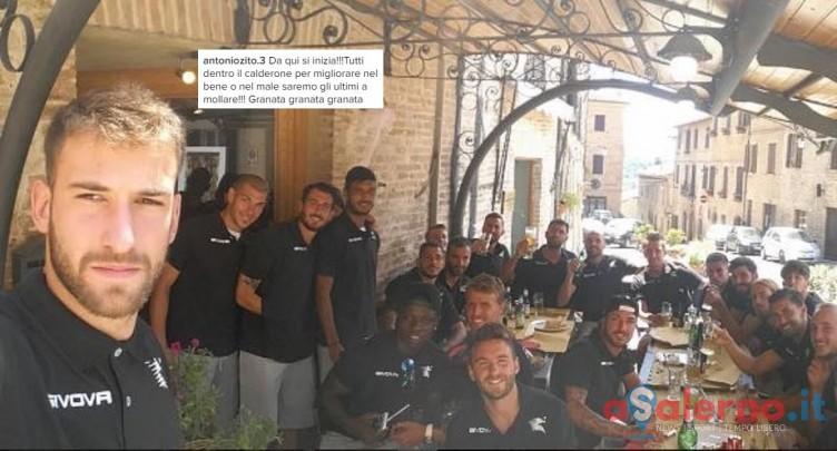 """FOTO – Il gruppo si compatta: """"Tutti dentro il calderone, saremo gli ultimi a mollare"""" - aSalerno.it"""