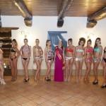 Le 14 Miss in gara e la Miss Granata 2015