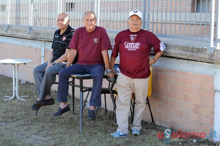 FOTO – I tre moschettieri in ritiro, un viaggio lungo 20 anni portando Mario nel cuore - aSalerno.it