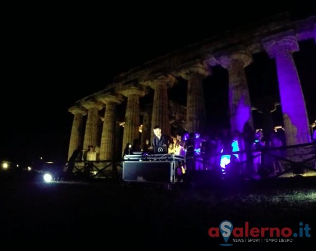 Per la prima volta un Dj ha suonato nei Templi di Paestum - aSalerno.it