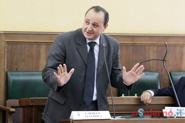 Carmelo Stanziola sarà il nuovo vicepresidente della Provincia di Salerno - aSalerno.it