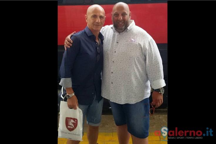FOTO – E' arrivato Mister Sannino a Salerno con il treno - aSalerno.it