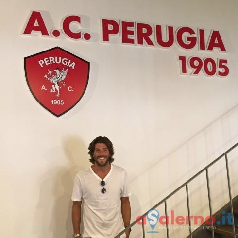 FOTO – Il salernitano Raffaele Imparato firma con il Perugia - aSalerno.it