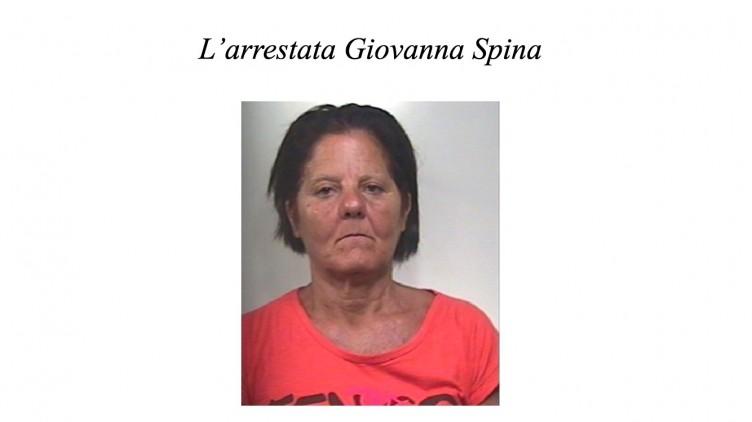 Nascondeva droga in casa, arrestata Giovanna Spina - aSalerno.it