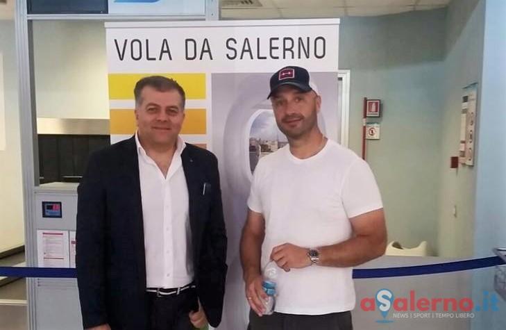 Joe Bastianich all'Aeroporto di Salerno-Costa d'Amalfi - aSalerno.it