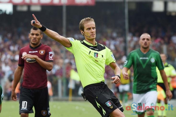 L'arbitro di Pisa – Salernitana è Daniele Chiffi - aSalerno.it