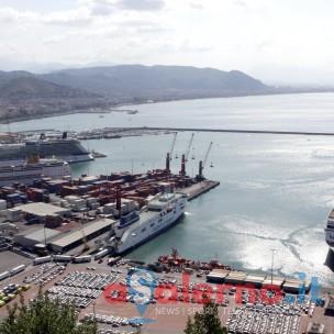 17 08 2014 Salerno Sbarco Turisti Navi Da Crociera