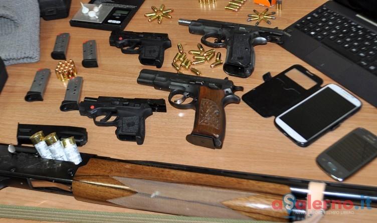 Armi a Salerno, 881 fucili e pistole ritirate dalla Polizia: 72 tenute illegalmente - aSalerno.it