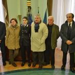 Salerno Comune Vincenzo Napoli riceve l'olimpionica Rossella Gregorio