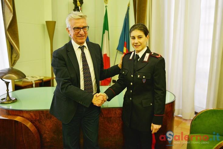 Le campionesse Rossella Gregorio e Claudia Memoli a Palazzo di Città - aSalerno.it