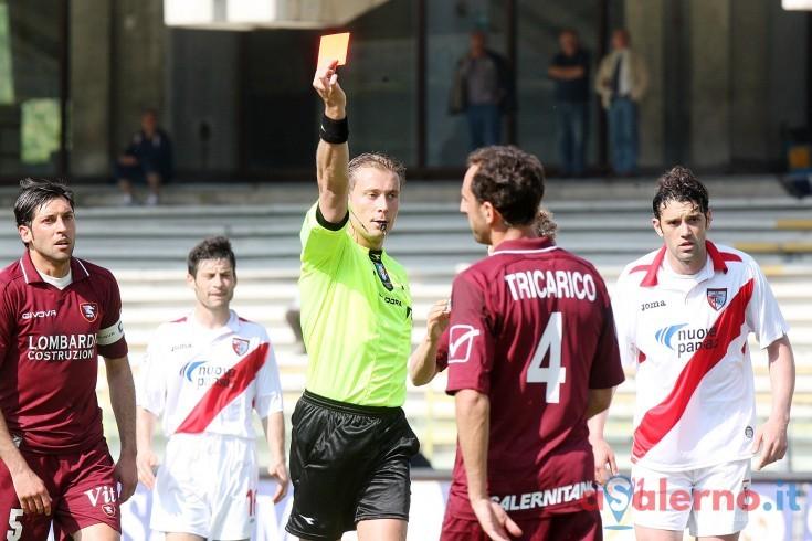 Paolo Valeri arbitrerà la gara fra Salernitana e Pisa - aSalerno.it