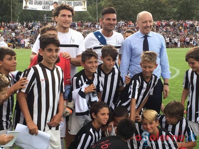 La scuola calcio f6 incanta a Villar Perosa davanti alla Juventus - aSalerno.it